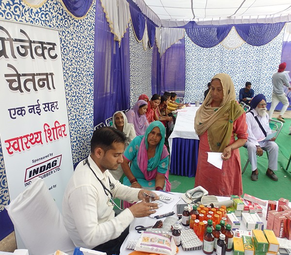 Health Camp Conducted Under Project Chetna